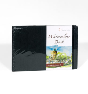 hahnemuehle watercolour book 200 gsm fine grained surface a4 a5 30 sheets 60 pages
